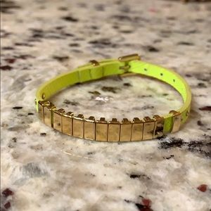 Michael Kors Neon Chartreuse Bracelet